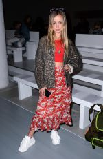 AMELIA WINDSOR at Matty Bovan Fashion Show at LFW in London 02/15/2019