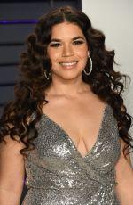 AMERICA FERRERA at Vanity Fair Oscar Party in Beverly Hills 02/24/2019
