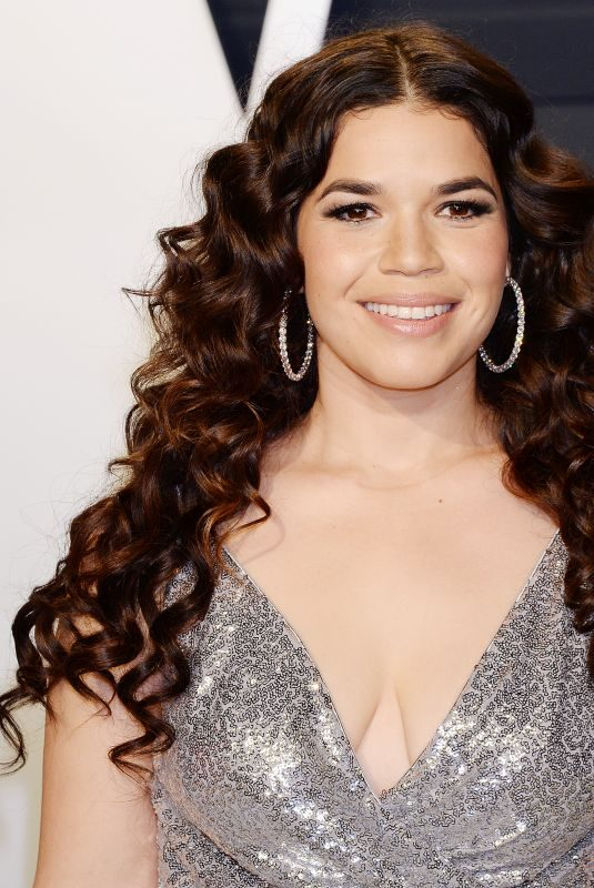 AMERICA FERRERA at Vanity Fair Oscar Party in Beverly Hills 02/24/2019