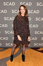 AMY ACKER at Scad Atvfest 2019 in Atlanta 02/08/2019