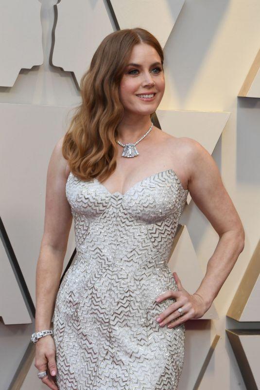 AMY ADAMS at Oscars 2019 in Los Angeles 02/24/2019