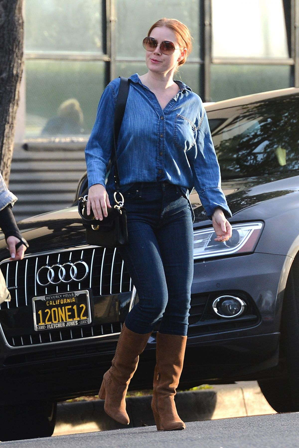 Amy Adams Out And About In Beverly Hills 02 21 2019