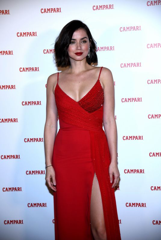 ANA DE ARMAS at Campari Red Diaries 2019 Premiere in Milan 02/05/2019