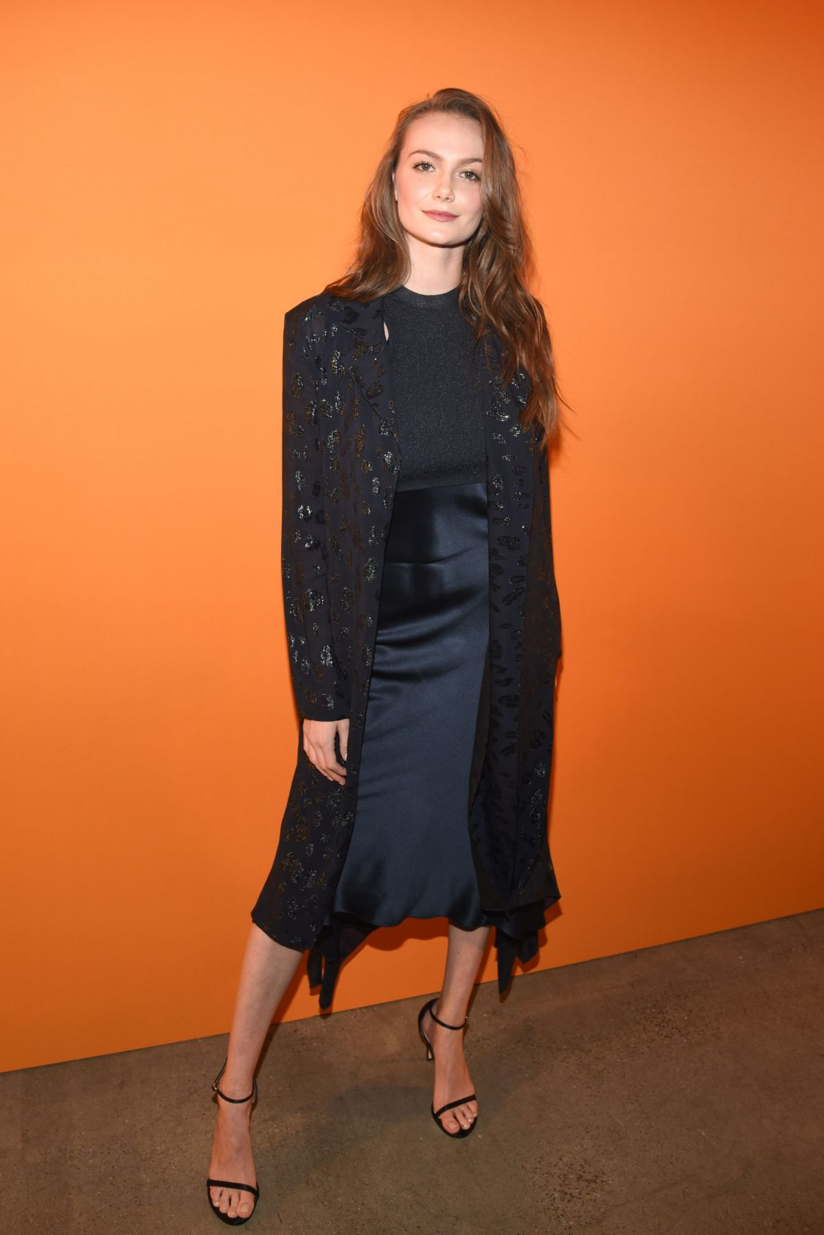 New York Designer Fashion: ANDI MATICHAK At Cushnie Fashion Show In New York 02/08