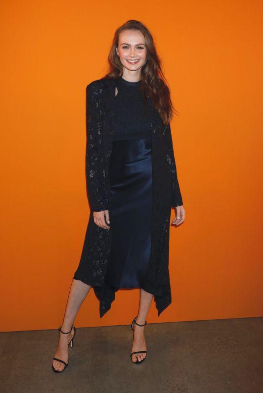 ANDI MATICHAK at Cushnie Fashion Show in New York 02/08/2019