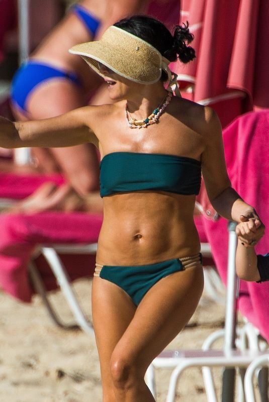 ANDREA CORR on the Beach in Barbados 02/22/2019