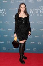 ANDREEA CRISTEA at Newport Beach Film Festival UK Honors 02/07/2019
