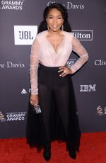 ANGELA BASSETT at Clive Davis Pre-grammy Gala in Los Angeles 02/09/2019