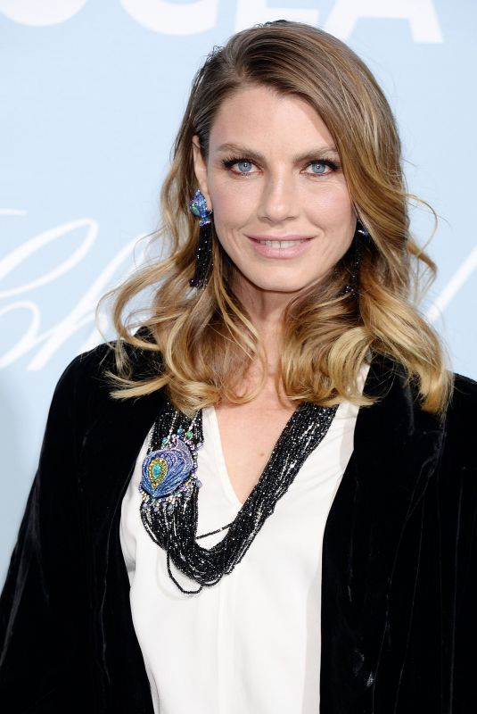 ANGELA LINDVALL at Hollywood for Science Gala in Los Angeles 02/21/2019