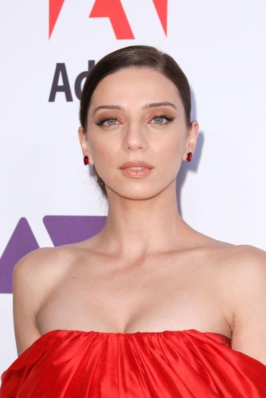ANGELA SARAFYAN at Ace Eddie Awards 2019 in Beverly Hills 02/01/2019