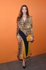 ANGELA SARAFYAN at Cushnie Fashion Show in New York 02/08/2019