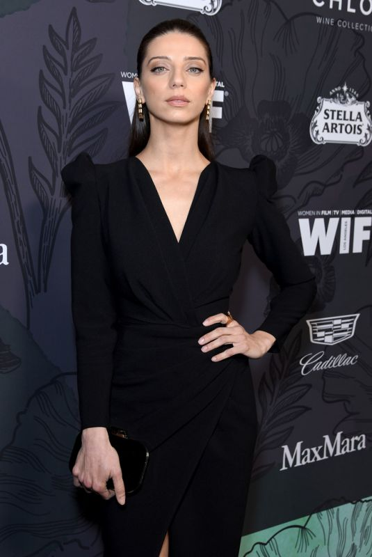ANGELA SARAFYAN at Women in Film Oscar Party in Beverly Hills 02/22/2019