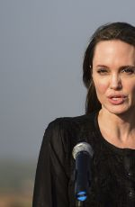 ANGELINA JOLIE at Unhcr Special Envoy to Kutupalong Rohingya Refugee Camp in Bangladesh 02/05/2019
