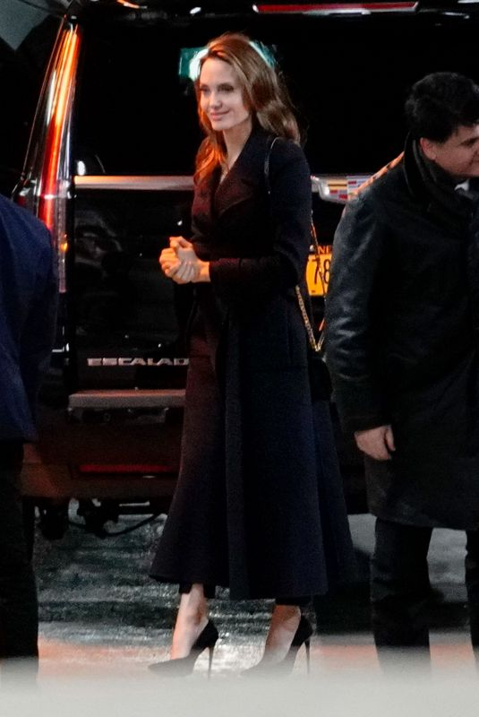 ANGELINA JOLIE Night Out in New York 02/26/2019