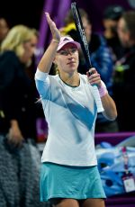ANGELIQUE KERBER at 2019 WTA Qatar Open in Doha 02/13/2019