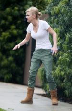 ANNA FARIS Out and About in Los Angeles 02/02/2019