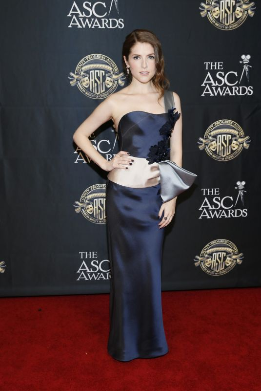 ANNA KENDRICK at America Society of Cinematographers Awards in Hollywood 02/09/2019