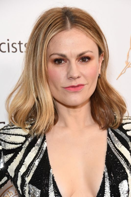 ANNA PAQUIN at 56th Annual Publicists Awards Luncheon in New York 02/22/2019