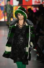 ANNA SUI at Runway Show at New York Fashion Show 02/11/2019