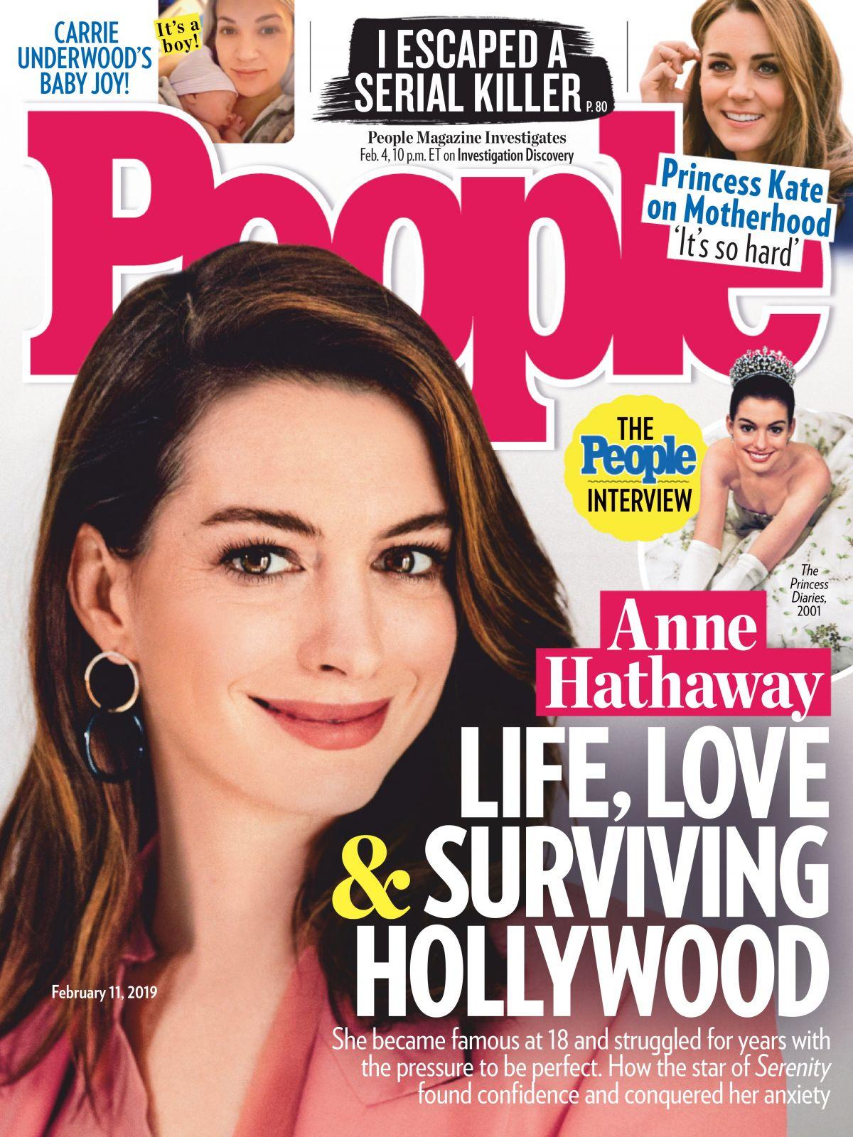 magazine hathaway anne february usa issue hawtcelebs copy january digital celebzz