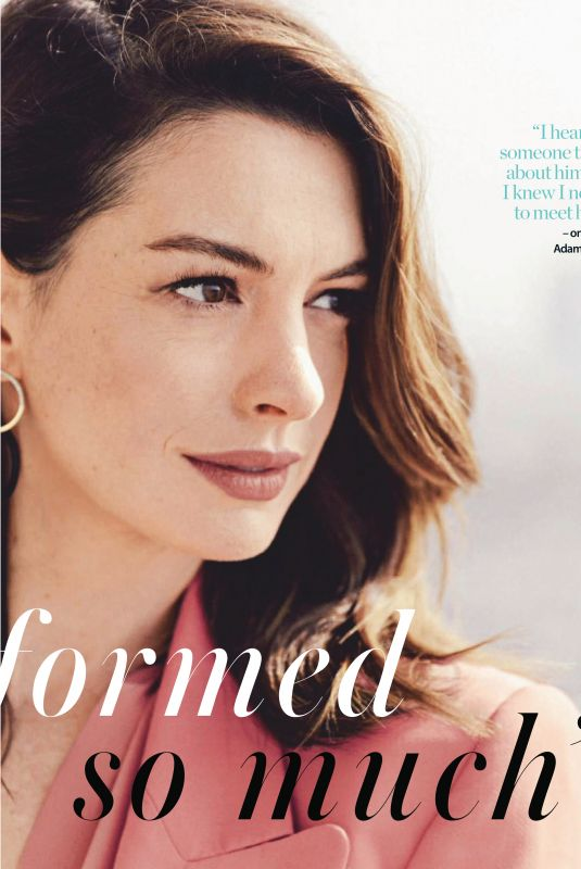 ANNE HATHAWAY in Who Magazine, February 2019