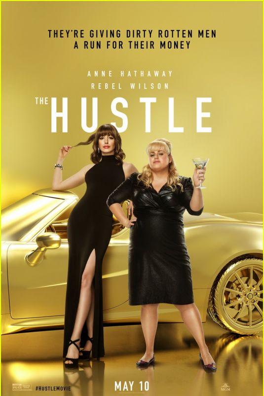 ANNE HATHAWAY - The Hustle Poster and Trailer