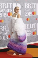 ANNE MARIE at Brit Awards 2019 in London 02/20/2019