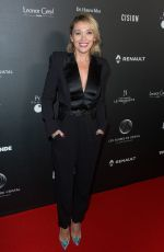 ANNE MARIVIN at Globe of Crystal Photocall in Paris 02/04/2019