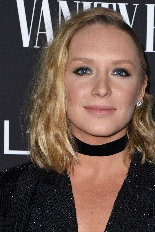 ANNIE STARKE at Vanity Fair & L'Oreal Paris Celebrate New Hollywood in Los Angeles 02/19/2019