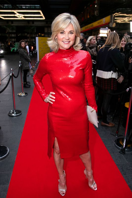 ANTHEA TURNER at 9 to 5 the Musical Gala in London 02/17/2019