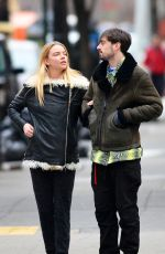 ANYA TAYLOR-JOY Out and About in New York 02/12/2019