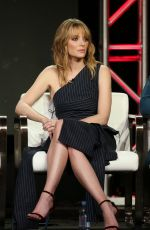 APRIL BOWLBY at 2019 Winter TCA Tour in Pasadena 02/09/2019