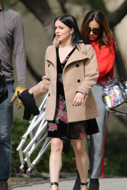 ARIEL WINTER on the Set of Modern Family in Los Angeles 02/12/2019