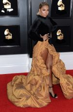 ASHANTI at 61st Annual Grammy Awards in Los Angeles 02/10/2019