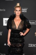 ASHLEE SIMPSON at Clive Davis Pre-grammy Gala in Los Angeles 02/09/2019