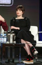 ASHLEIGH CUMMINGS at 2019 Winter TCA Tour in Pasadena 02/09/2019