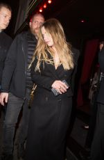 ASHLEY BENSON Night Out in Paris 02/25/2019