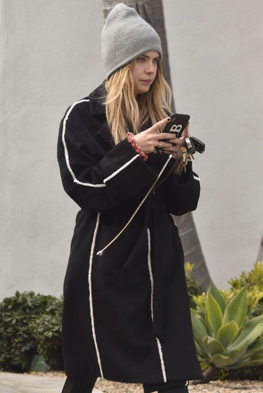 ASHLEY BENSON Out and About in West Hollywood 02/05/2019
