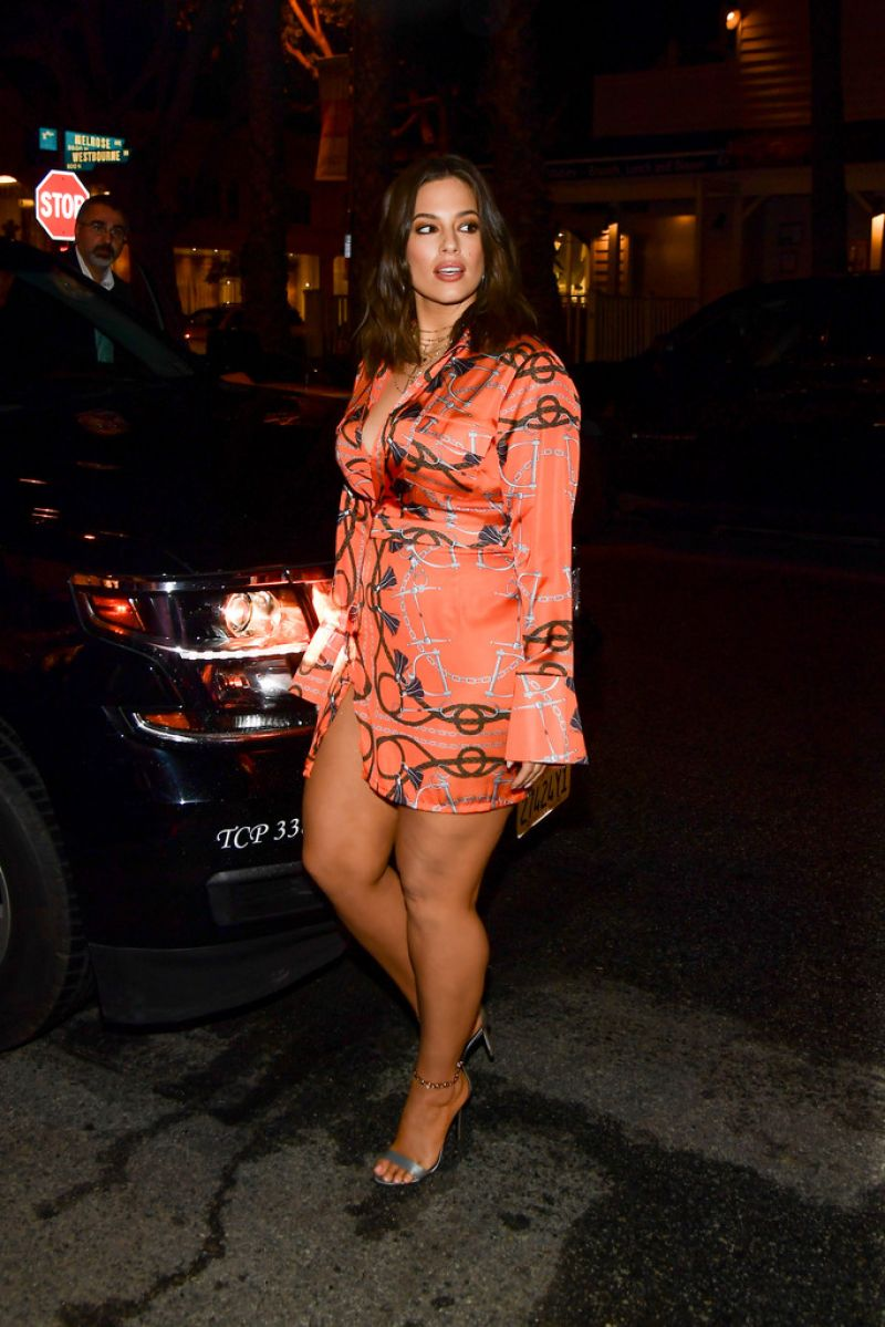 ASHLEY GRAHAM at Prettylittlething Office Opening Party in Los Angeles 02/20/2019