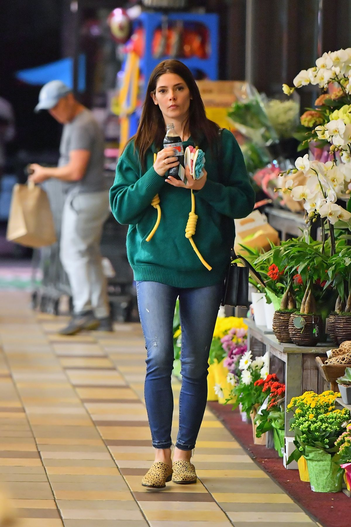 ASHLEY GREENE Out for Grocery Shopping in Los Angeles 02 ...