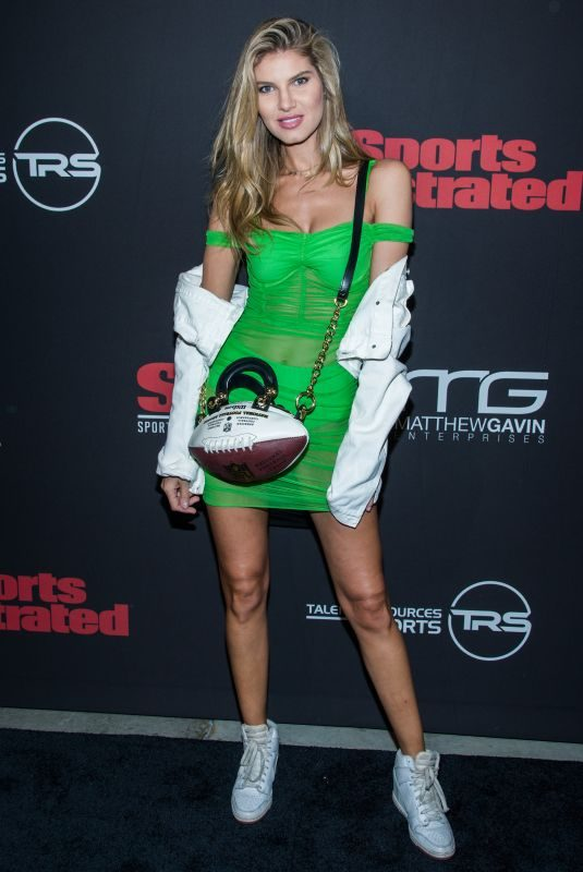ASHLEY HAAS at Sports Illustrated Super Bowl Party in Atlanta 02/02/2019