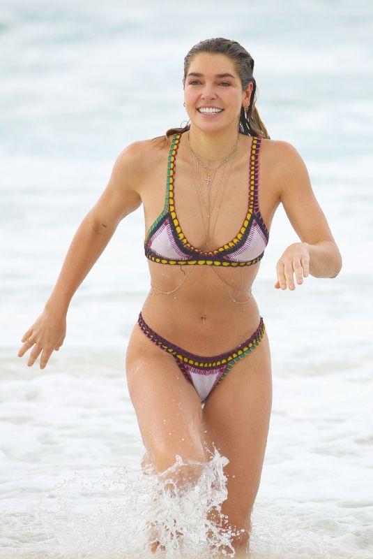 ASHLEY HART in Bikini at Bondi Icebergs in Sydney 02/22/2019