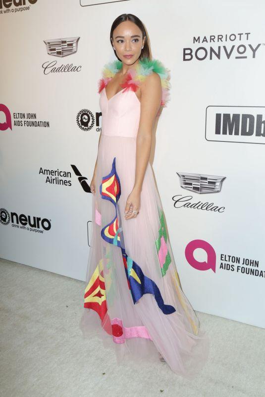 ASHLEY MADEKWE at Elton John Aids Foundation Oscar Party in Hollywood 02/24/2019