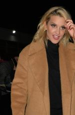 ASHLEY ROBERTS and Giovanni Pernice Leaves SSE Arena London 02/07/2019
