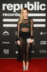 ASHLEY TISDALE at Republic Records Grammys After-party in Los Angeles 02/10/2019
