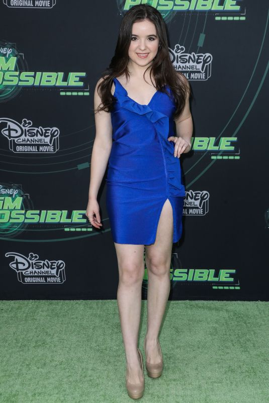 AUBREY MILLER at Kim Possible Premiere in Los Angeles 02/12/2019