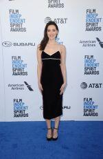 AUBREY PLAZA at Film Independent Spirit Awards in Santa Monica 02/23/2019