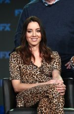 AUBREY PLAZA at TCA Winter Tour in Pasadena 02/04/2019