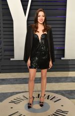 AUBREY PLAZA at Vanity Fair Oscar Party in Beverly Hills 02/24/2019