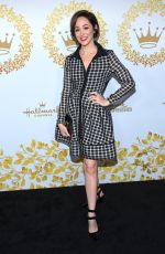 AUTUMN REESER at 2019 Hallmark Channel Winter TCA Press Tour 02/09/2019